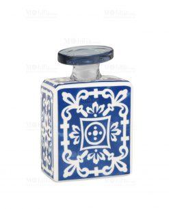 profumatore 240 ml quadrato blu e bianco linea sapori e profumi baci milano