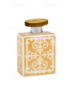 profumatore 240 ml quadrato giallo e bianco linea sapori e profumi baci milano