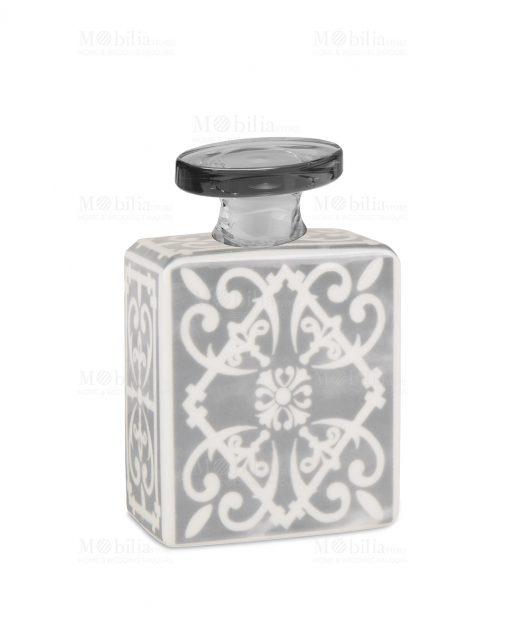profumatore 240 ml quadrato grigio e bianco linea sapori e profumi baci milano