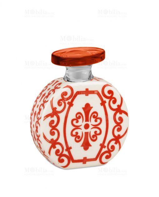 profumatore 240 ml rotondo rosso e bianco linea sapori e profumi baci milano