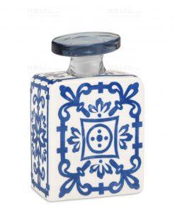profumatore 375 ml quadrato blu e bianco linea sapori e profumi baci milano