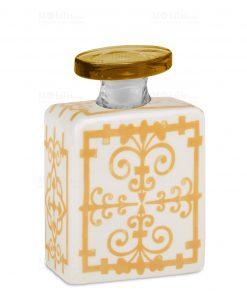 profumatore 375 ml quadrato giallo e bianco linea sapori e profumi baci milano
