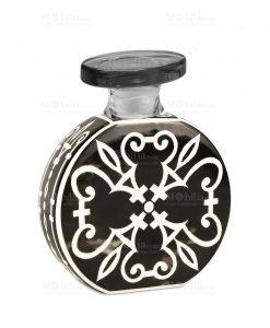 profumatore 375 ml rotondo nero e bianco linea sapori e profumi baci milano