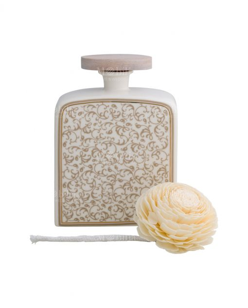 profumatore fragranza grande modello fiore in sola wood brandani