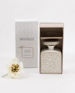 profumatore fragranza piccolo con fiore modello fiore in sola wood brandani