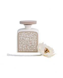 profumatore fragranza piccolo modello fiore in sola wood brandani