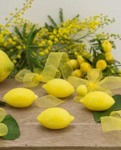 saponetta profumata gialla limone