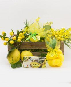 saponette dentro rete gialla sapone vegetale sicilia limone