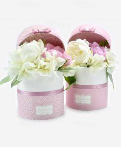 scatole portaconfetti con fiori linea blush rdm design