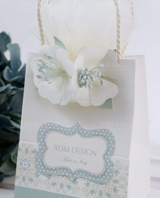 scatolina portaconfetti a forma di busta linea sweet memory rdm design