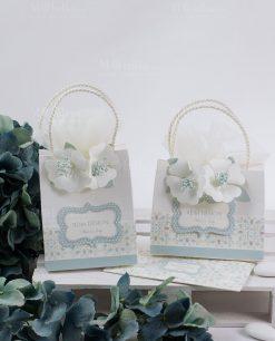scatoline cartoncino portaconfetti a forma di buste con fiori linea sweet memory rdm design