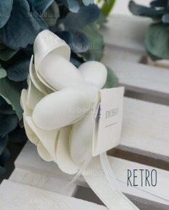segnaposto fiore retro con confetti linea sweet memory rdm design