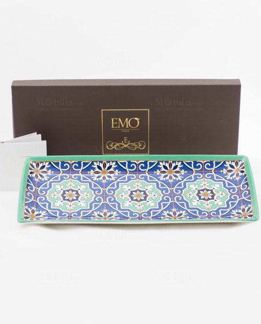 svuotatasche art collection grande con scatola linea azulejos emò