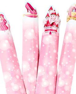 tubo portacaramelle party princess