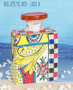 bottiglia profumatore big 375 ml lato b linea baroque and rock sicily red baci milano