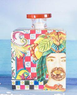 bottiglia profumatore magnum linea baroque and rock sicily red baci milano
