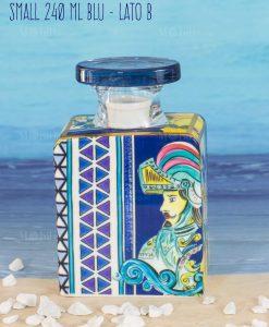 bottiglia profumatore midi 240 ml lato b linea baroque and rock sicily blu baci milano