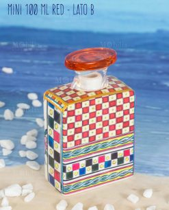bottiglia profumatore mini 100 ml lato b linea baroque and rock sicily red baci milano