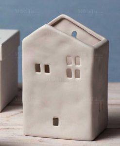 caseta porta piante grande bianca porcellana linea home sweet home ad emozioni