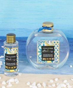 fragranza 250 ml e 50 ml mare di sicilia linea abroque and rock sicily baci milano