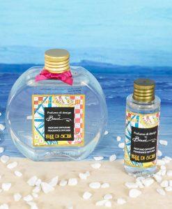 fragranza 250 ml e 50 ml terre di sicilia linea abroque and rock sicily baci milano