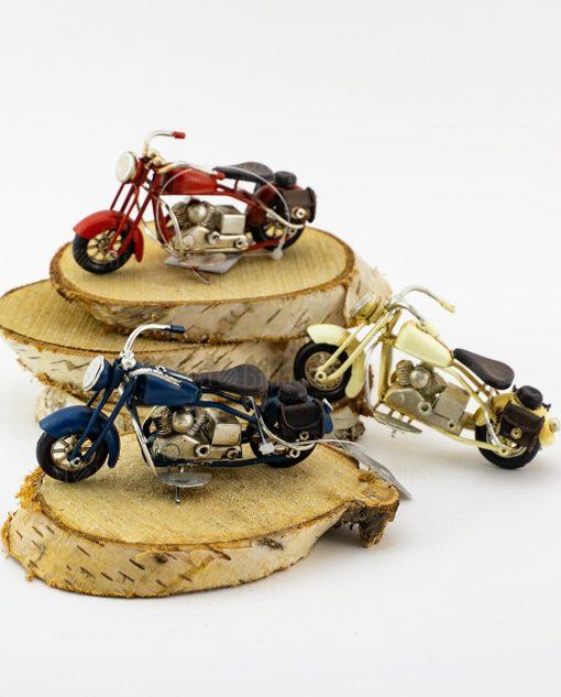 modellino grande moto harley da collezione vari colori