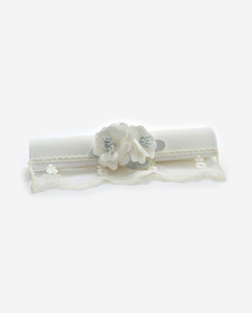 partecipazione nozze pergamena bianco con fiori linea sweet memory rdm design