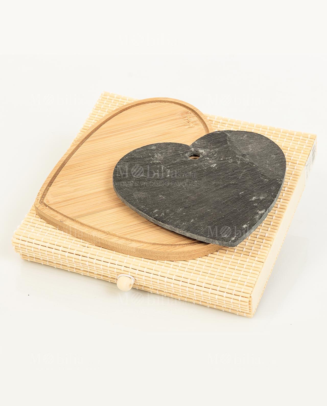 Set 2 taglieri a forma di cuore Cuorematto - Mobilia Store ...