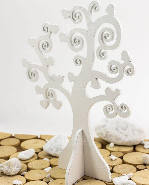 albero della vita con uccellini e cuoricini