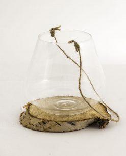 ampolla vetro con cordoncino