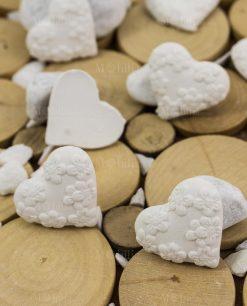 applicazioni gssetto cuore con margherite