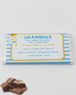 barretta di cioccolato invito cerimonia