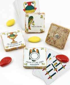 calamita carte da gioco siciliane ceramica modelli assortiti