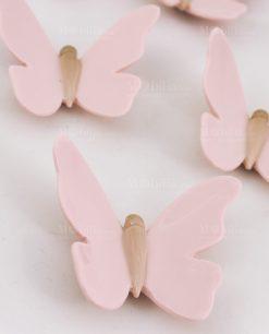 calamita farfalla rosa grande e piccola linfinito