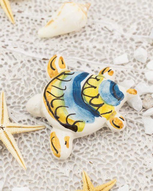 calamita tartaruga ceramica artigianale caltagirone