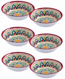 ciotolina rotonda 15x4 set 6 pezzi linea maya brandani