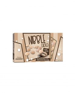 confetti lenti avorio sfumati cioccolato ricoperto da uno strato di zucchero nibble choco Maxtris party