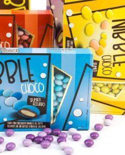 confetti lenti colorate nibble choco maxtris