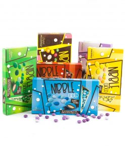 confetti lenti vari colori nibble choco maxtris