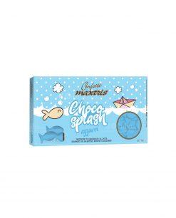 confetti pesciolini azzurri cioccolato al latte choco splash Maxtris party