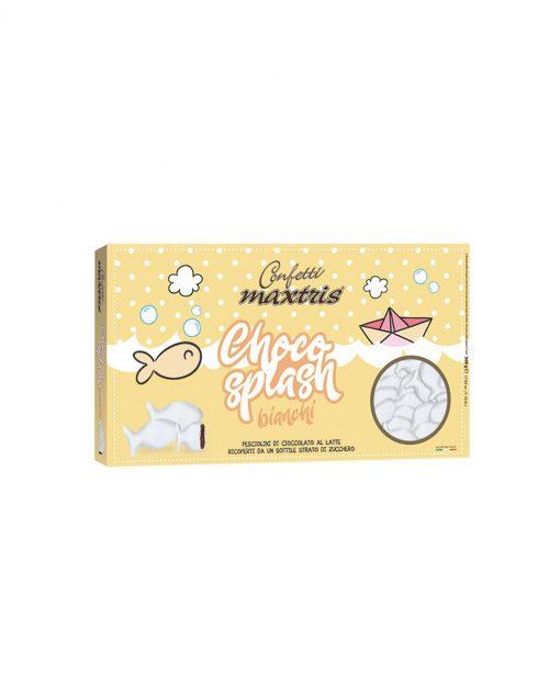 confetti pesciolini bianchi cioccolato al latte choco splash Maxtris party