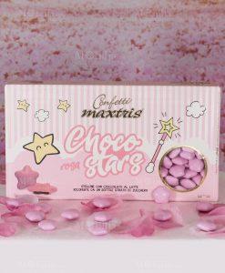 confetti stellina rosa choco stars maxtris