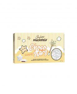 confetti stelline bianchi cioccolato al latte choco stars Maxtris party