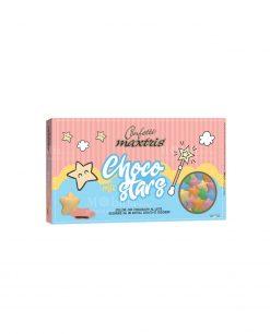 confetti stelline colori assortiti cioccolato al latte choco stars Maxtris party
