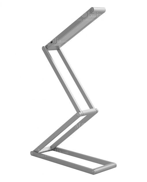lampada contorsionista silver alluminio brandani