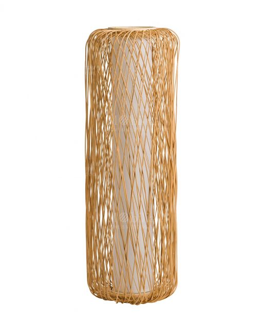 lampada rattan color brandani