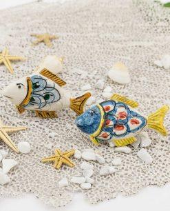 magnete pesce ceramica caltagirone due modelli