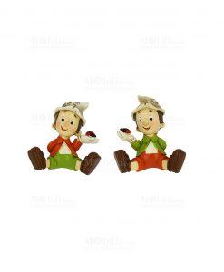 magnete pinocchio con cocchinella due assortiti
