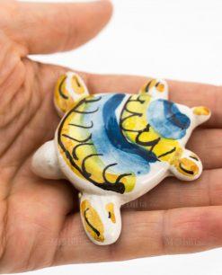 magnete tartaruga ceramica artigianale caltagirone