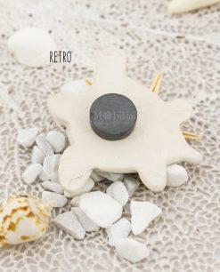 magnete tartaruga ceramica artigianale caltagirone retro